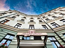 Hanza Hotel & Wellness, hotel in Riga