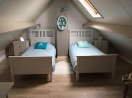 Maison de pêcheur, vakantiehuis in De Haan