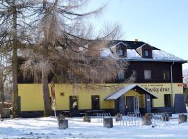 Hotel & Restaurant Adolfovský Dvůr, hotel v destinaci Adolfov