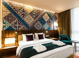 Mercure Almaty City Center, hotel near Boluan Sholak International Exhibition and Sports Centre, Almaty