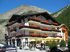 Hotel Restaurant Mattmarkblick, Hotel in der Nähe von: Allalin Glacier, Saas-Almagell