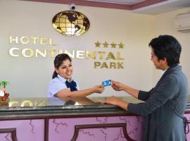Hotel Continental Park, отель в городе Санта-Крус-де-ла-Сьерра