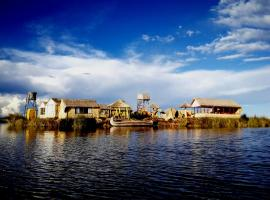Uros Qhantany Lodge, pet-friendly hotel in Puno
