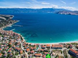 Apartmani Nikola, pet-friendly hotel in Baška