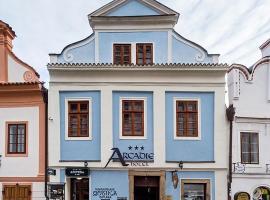 Arcadie Hotel & Apartments, hotel in Český Krumlov