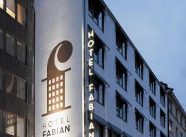 Hotel Fabian, hotelli Helsingissä lähellä maamerkkiä Leppävaaran asema