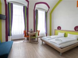 Amber Gardenview Studios, Ferienwohnung in Budapest