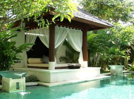 Nike Villas, hotel with pools in Sanur