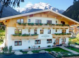 Landhaus Gasser, Ferienwohnung in Mayrhofen