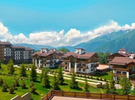 Polyana 1389 Hotel & Spa, viešbutis mieste Estosadok, netoliese – Slidinėjimo keltuvas A2