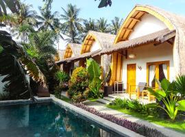Teras Lombok Bungalow, family hotel in Senggigi