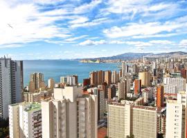 Residence Vacanza Torre Montecarlo, hotel familiar en Benidorm
