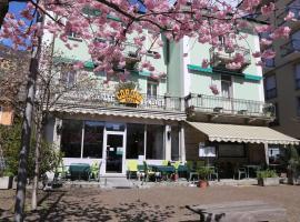 Hotel Corona, отель в Локарно