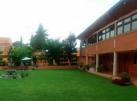 Hotel Ollin Teotl, отель в городе Сан-Хуан-Теотиуакан