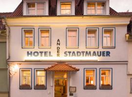 Hotel an der Stadtmauer, отель в городе Мюльхаузен