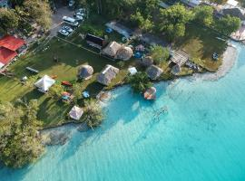 Ecocamping Yaxche, càmping a Bacalar