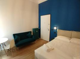 Blue design suite in Casa epoca Isola Garibaldi, hotel near Bosco Verticale, Milan