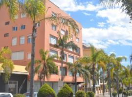 Hostal La Palmera, hotell i Torremolinos