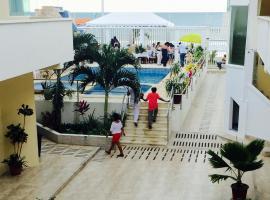 Casa y Mar Hotel, hotel em Tonsupa