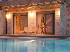 Thomais Resort - 2 Villas with a Pool and Sea View, accessible hotel in Agia Pelagia