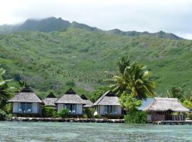 Pension Motu Iti, guest house in Pihaena