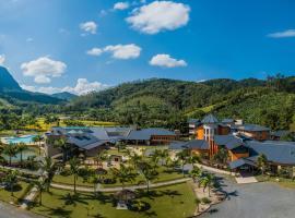 Estância Ribeirão Grande, отель в городе Жарагуа-ду-Сул