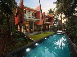 The Acacia Villa - Luxury Infinity Pool, hotel with pools in Vagator