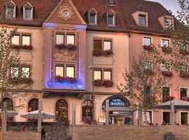 Hotel Walfisch, отель в Вюрцбурге