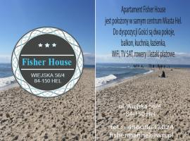 Fisher House - Hel, hotel in Hel