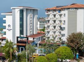 Azak Beach Hotel, отель в городе Аланья, рядом находится Аквапарк Alanya