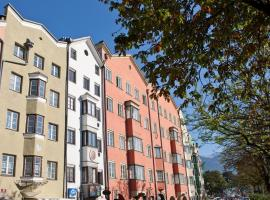 Apartment Maximilian in old Town, Budget-Hotel in Innsbruck