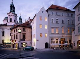 U Tří Bubnů, hotel in Praag