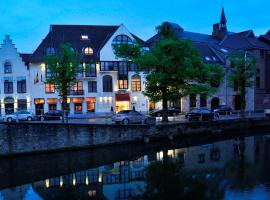 Golden Tulip Hotel de' Medici, accessible hotel in Bruges
