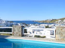Amperian Mykonos Suites, отель в Миконосе