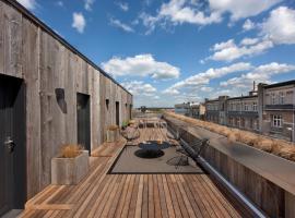 Mini Loft Curie with terrace, hotel in Brussels