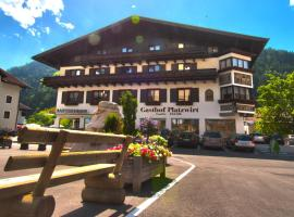 Hotel Restaurant Platzwirt, Hotel in der Nähe von: Golfclub Goldegg, Rauris