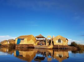 Uros Lake Titicaca Lodge, pet-friendly hotel in Puno