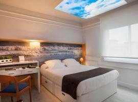 Hotel Ribes Roges, hotel in Vilanova i la Geltrú