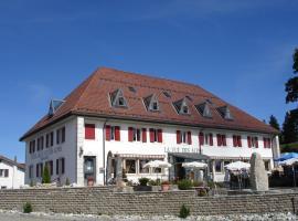 Hotel Restaurant Vue-des-Alpes, hôtel à La Vue des Alpes près de: Cret - Meuron T-bar