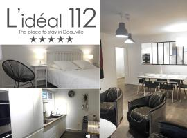 L'IDEAL 112 (85m2, 2 chambres, Parking), pet-friendly hotel in Deauville