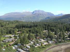 Linnhe Lochside Holidays, glamping site in Corpach