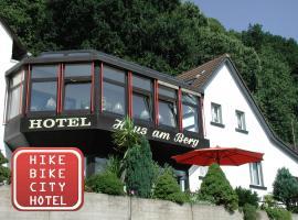 Hotel Haus am Berg, отель в Трире