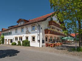Landhotel zum Metzgerwirt, hotel near Pilgrimage Church of Wies, Bad Bayersoien