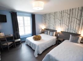 Logis Hôtel de la Poste, hotel near Belleme Golf Course, Le Mêle-sur-Sarthe