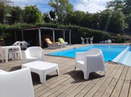 Domaine Choco Vanille, hotel with jacuzzis in Deshaies