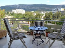 Bright apt, amazing view!, hotel near National Technical University - Zografou Campus, Athens