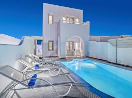 Santorini Blue Senses Villas, hotel in Mesaria
