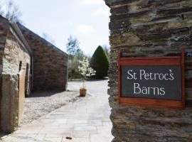 Re-imagined Stone Barns in the Country Near the Coast, farm stay in Padstow