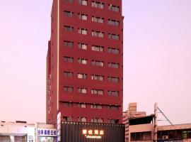 薆悅酒店台中館,台中的飯店