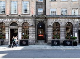 Angels Share Hotel, hotel cerca de The Scotch Whisky Experience, Edimburgo